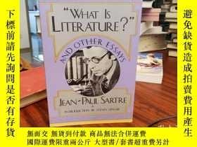 二手書博民逛書店 What罕見is Literature? and Other