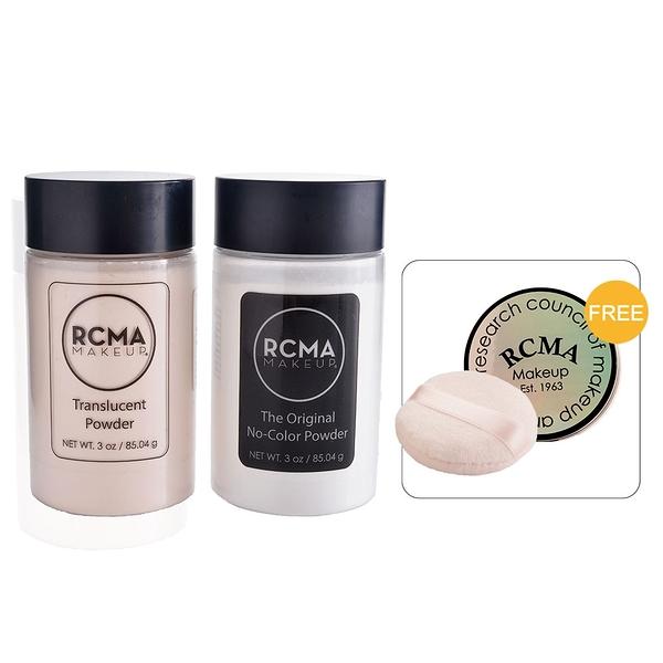 美國RCMA蜜粉 無色蜜粉 透明蜜粉 定妝蜜粉 胡椒蜜粉 美妝學會 85g 送粉盒(小)+粉撲 預購