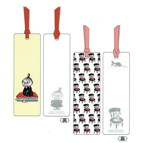 MOOMIN嚕嚕米日本製上質紙可留言書籤2入組(小不點亞美)★funbox★Gakken_GK18583