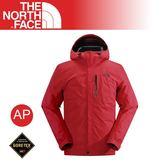 【The North Face 男 GORE-TEX防水外套《紅》】CAS2/防風夾克/保暖外套/防風大衣