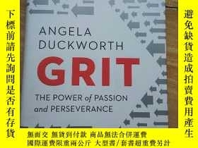 二手書博民逛書店GRIT罕見ANGELA DUCKWORTHY215878 外文