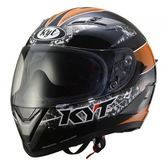 [東門城] KYT 黑橘 全罩式安全帽 買就送頭套