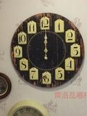 《齊洛瓦鄉村風雜貨》美式復古仿舊掛牌大掛鐘 大時鐘 壁掛鐘