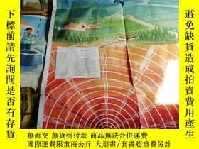 二手書博民逛書店罕見小學常識地震教學掛圖2幅全Y267097 王柏震 上海人民出