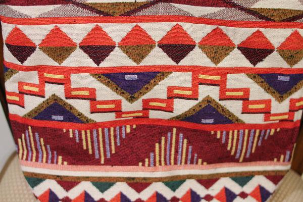 手織布斜背包(大)