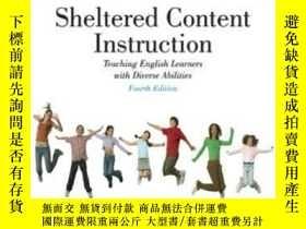 二手書博民逛書店Sheltered罕見Content Instruction: