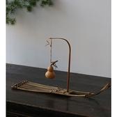 手工竹編竹排茶道配件杯墊裝飾 點心果盤果籃茶托香