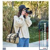 國家地理相機包專業單反單肩帆布多功能防水便攜佳能尼康攝影包WD   電購3C