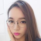 鏡框(細框)-時尚經典復古氣質男女平光眼鏡5色73oe6【巴黎精品】
