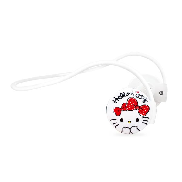 88柑仔店~GARMMA Hello Kitty 藍芽無線耳機麥克風 –蝴蝶紅 寶石粉