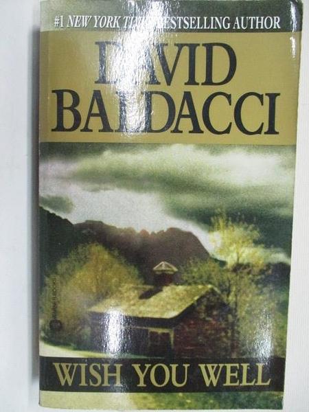 【書寶二手書T3/原文小說_C9A】Wish You Well_David Baldacci