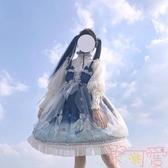 巴朵妮小王子JSK吊帶洛麗塔連身裙日系lolita洋裝【聚可愛】