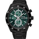 SEIKO 精工 Criteria 零極限三眼計時碼錶-綠x黑/44mm V176-0AR0G(SSC547P1)