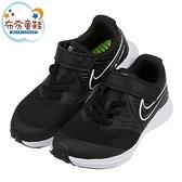《布布童鞋》NIKE_STAR_RUNNER2黑色網布大童成人慢跑鞋(23~25公分) [ P1M542D ]