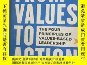 二手書博民逛書店From罕見Values to Action: The Four