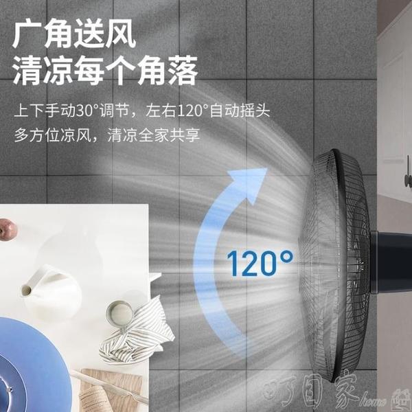 18英吋 壁扇掛壁式電風扇家用靜音臺式牆壁工業搖頭大電扇遙控餐廳宿舍YYP 町目家