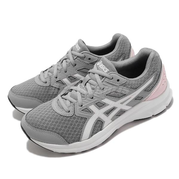 Asics 慢跑鞋 Jolt 3 D 寬楦 灰 白 粉紅 亞瑟士 路跑 運動鞋 女鞋 【ACS】 1012A909020