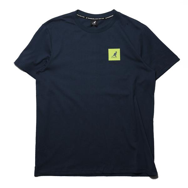 KANGOL 短袖 短T 袋鼠 深藍 正方LOGO 後大LOGO 男 (布魯克林) 6125101380