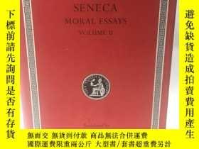 二手書博民逛書店英文原版:洛布經典從事罕見LOBE CLASSICAL LIBRARY # SENECA Moral Essays