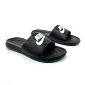 《7+1童鞋》NIKE VICTORI ONE SLIDE 輕盈舒適 拖鞋 H805 黑色
