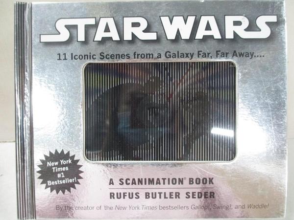 【書寶二手書T1/動植物_BQG】Star Wars Scanimation: Iconic Scenes from a Galaxy Far…