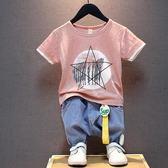 男童上衣 純棉兒童短袖t恤夏季潮童半袖