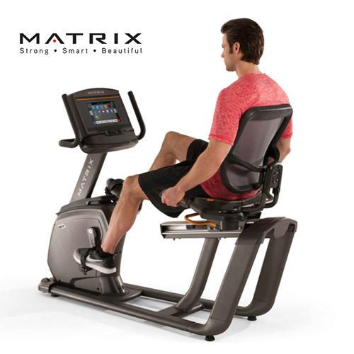 喬山JOHNSON Matrix Retail R30-02 斜臥式健身車 [XIR控制面板] 國旅卡特約店