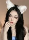 髮箍 毛絨可愛貓咪貓耳朵發箍狐貍頭箍頭飾...