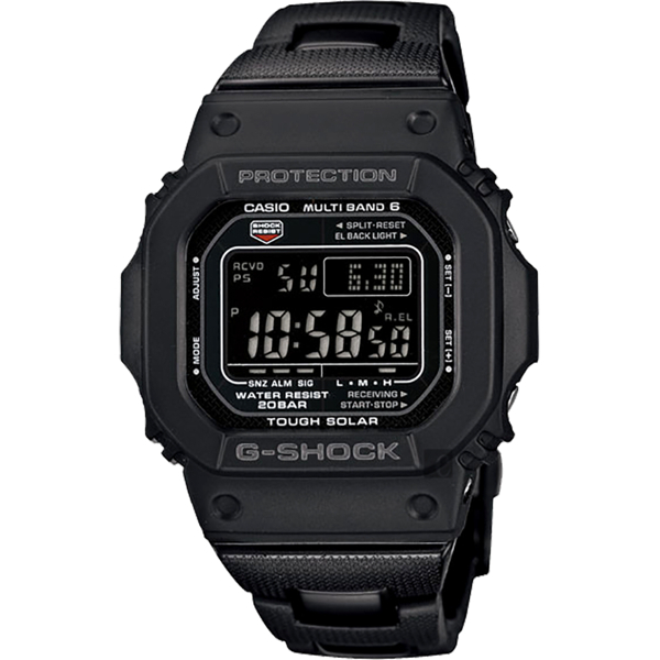 CASIO 卡西歐 G-SHOCK 太陽能電波手錶 GW-M5610BC-1/GW-M5610BC-1JF 比漾廣場