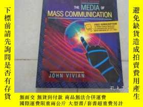 二手書博民逛書店THE罕見MEDIA OF MASS COMMUNICATION