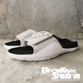 Nike Jordan Hydro 7  黑 灰潑墨水泥 魔鬼氈 拖鞋 男 (布魯克林) 2018/7月 AA2517-004