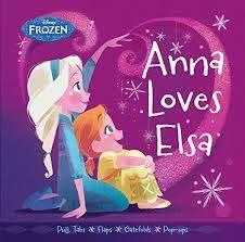 【幼兒新奇操作書】ANNA LOVES ELSA /精裝硬頁操作書