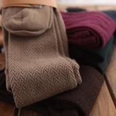 日本秋冬 水波紋 莫代爾棉加厚高品質保暖連褲襪打底襪子 長腿
