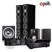 Polk Audio RtiA9 環繞家庭劇院組 (山葉 RX-V685/RtiA9/CsiA6/S15/JBL P10SW) 黑色箱體
