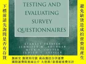 二手書博民逛書店【罕見】2004年出版 Methods For Testing And Evaluating Survey Que