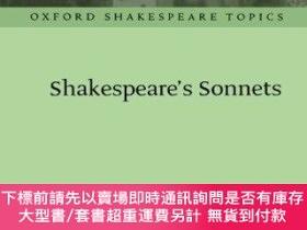 二手書博民逛書店Shakespeare s罕見Sonnets (oxford Shakespeare Topics)Y2551