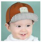 方格人兒童遮陽棒球帽