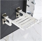 土城 洗澡凳子 安全浴室折疊凳 老年人帶腿洗澡椅【全館免運】