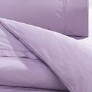 【鴻宇HONGYEW】美國棉/台灣製/日式元素/淡紫迷情-雙人加大床包組116509