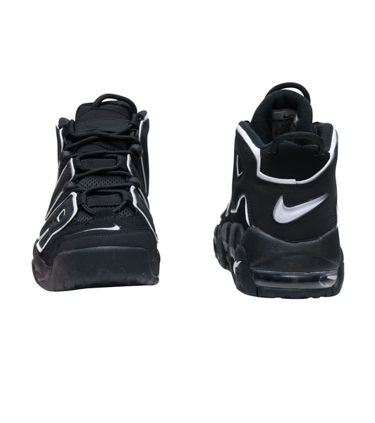 IMPACT Nike Air More Uptempo 大AIR 黑白 厚底 增高 GD 女鞋 415082-002