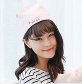 夏季全棉薄款孕婦坐月子防頭風帽子Eb800『M&G大尺碼』