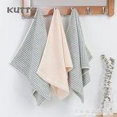 日系純棉洗澡面巾 條紋運動超強吸水加厚成人情侶潔面毛巾『CR水晶鞋坊』
