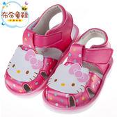 《布布童鞋》HelloKItty凱蒂貓桃色歡樂兒童嗶嗶涼鞋(12.5~15公分) [ C8F106H ]