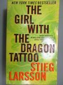 【書寶二手書T8/原文小說_LDJ】The Girl With the Dragon Tattoo_Stieg Lars