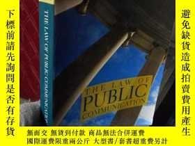 二手書博民逛書店THE罕見LAW OF PUBLIC COMMUNICATION