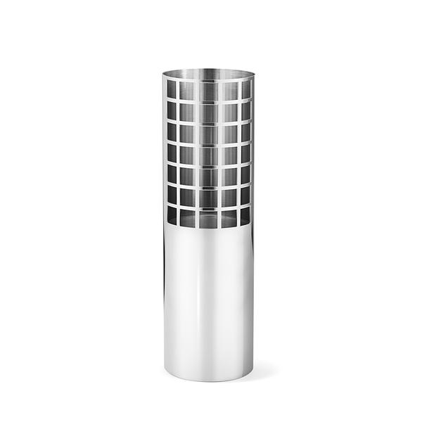 Georg Jensen Matrix Tube Vase Medium H24.7cm 喬治傑生 矩陣系列 立式花瓶 - 中尺寸