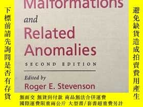 二手書博民逛書店Human罕見Malformations and Related
