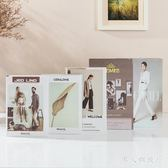 創意擺件 假書仿真書現代簡約道具裝飾品擺件家居創意裝飾書殼擺設 DR1655 【男人與流行】