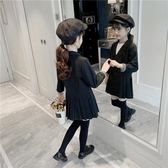 女童西裝外套 2019春秋新款兒童秋裝洋氣韓版女孩秋季童裝中大童 果寶時尚
