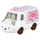 小禮堂 TOMICA多美小汽車 角落生物 造型小貨車 食物攤車 玩具車 模型車 (白 北極熊) 4904810-17001